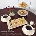 イチオシ!と クックパッド♡と ケーキみたいなサンドイッチdeおうちカフェ♡
