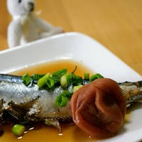 秋刀魚の梅煮☆