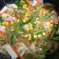 カレー粉を使った炊き込みご飯に挑戦