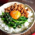 ♡超簡単モテレシピ♡ひき肉とほうれん草deお手軽ビビンバ♡【簡単*時短*節約】