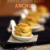 プティ・フール・サレ/チーズ&アンチョビ