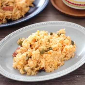 【スパイスアンバサダー】ルクルーゼで鍋炊き♪子供にも食べやすいジャンバラヤ