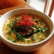 胃袋に優しい〜卵と豆腐の中華風スープ by momocoroさん
