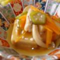 野菜もたっぷり摂れる【高野豆腐の野菜あんかけ】