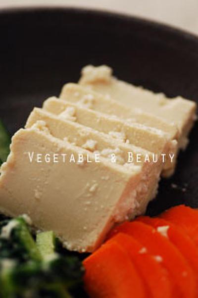【肌】 まるでチーズ!豆腐の塩麹漬け