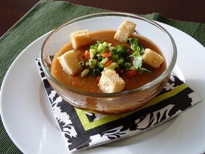 ガスパッチョ(冷製野菜スープ)