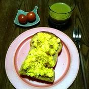 甘く薫る大人の卵サンド