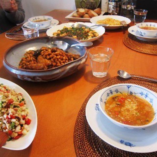 9月の料理サロン-栄養満点、豆と雑穀を使った料理