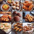 【御礼】【魔法のパン】30分でこねずにできる 菓子パン〜おかずパン、テーブルパン