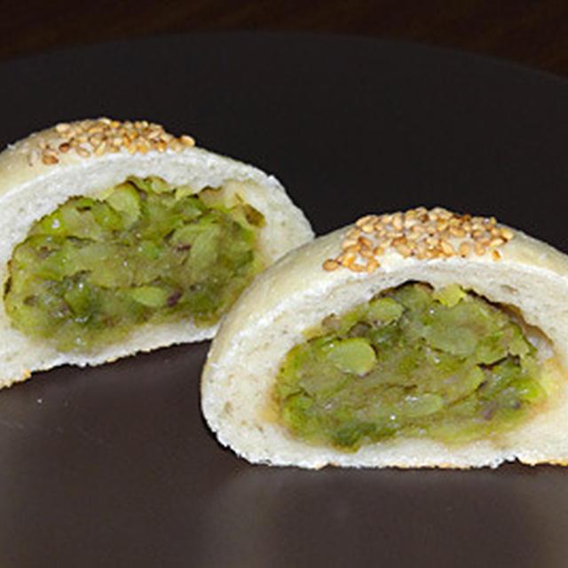 GOPANの緑豆お米あんパン