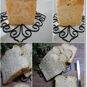 デデ~ン!!!なライ麦の真四角型de山食パンと黄色のTシャツ