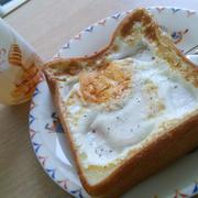 10分で完成朝食トースト*