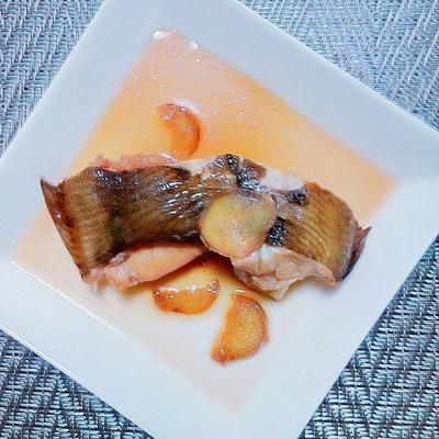 すき焼きのタレで簡単🐟赤カレイの煮付け