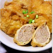 おかず&ごはんのお供料理レシピ~節約レシピ!もやし&ひき肉巾着煮込み~