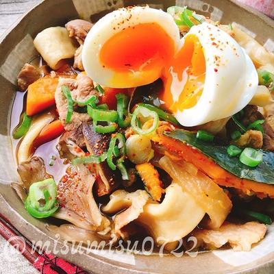 【レシピ動画】自家製麺で南瓜のほうとう