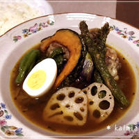 【ダンナ料理】おうちで簡単にできるスープカレー*お店の味♪