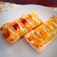 紫芋と薩摩芋のスイートポテトパイ