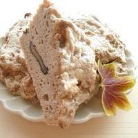 黒豆とそば粉で、ほっこりお山のケーキ^^