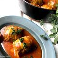 ロール白菜のトマト煮♡