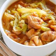 鶏とキャベツのスープ煮