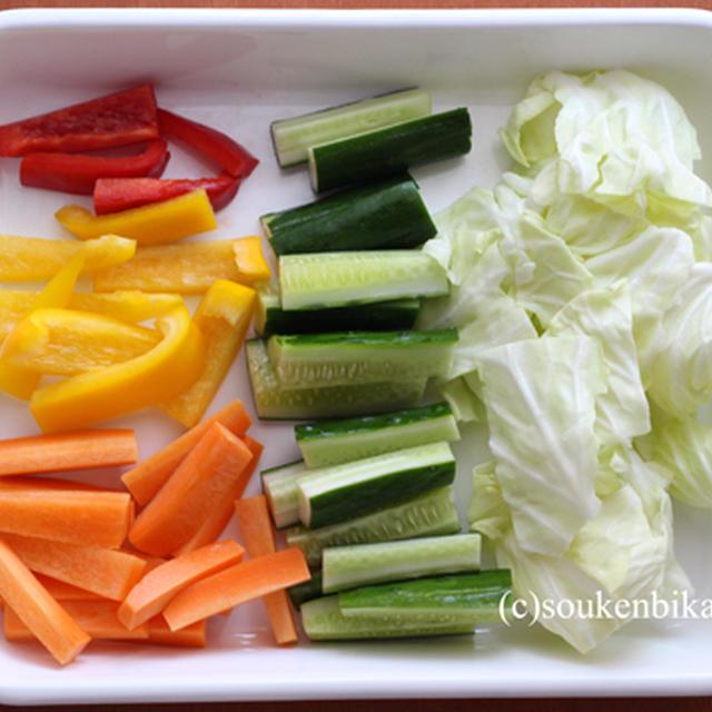 メイソンジャーでカラフル野菜ピクルス