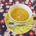 遊学舎で料理教室  生姜とオレンジの葛湯