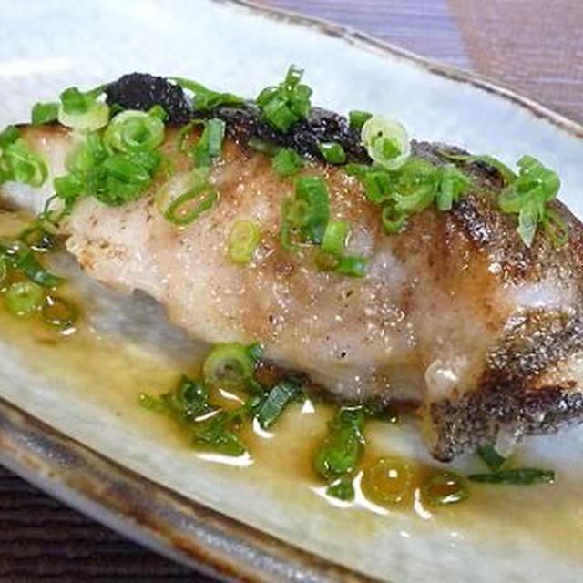 白身魚(鱈)のポン酢ソテー