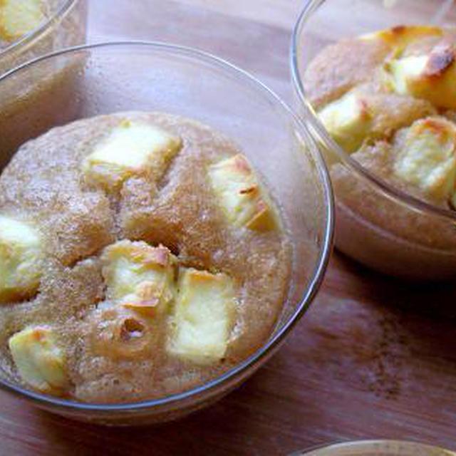 クリームチーズの米粉カップケーキ