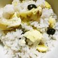 栗と黒豆の炊き込みご飯