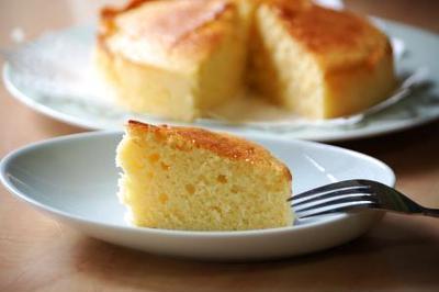 ヨーグルトケーキです。