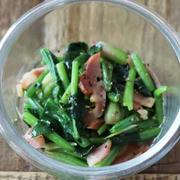 パパッと作れて間違いない!ほうれん草ベーコン炒めの副菜レシピ