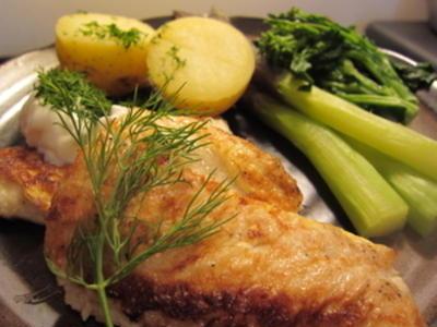 [働く主婦の料理] 簡単・身くずれなし!魚の卵衣ソテー