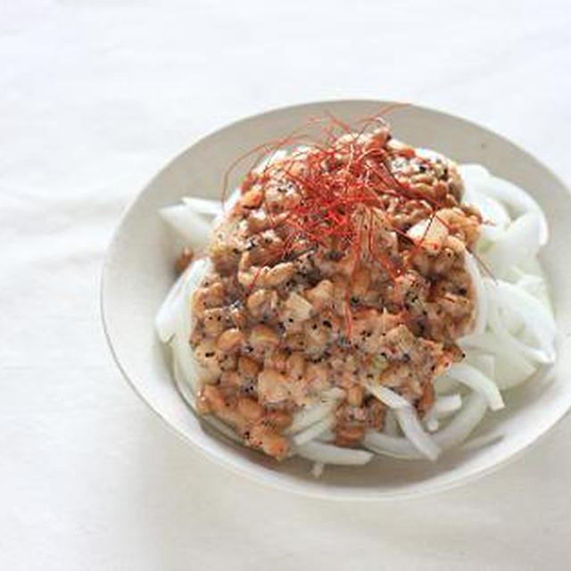 豆乳キムチ納豆だれでいただく新玉ねぎ♪ と最近の生活のこと。