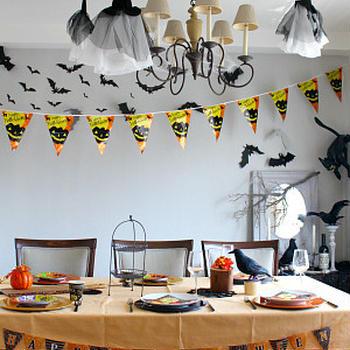 ハロウィンのテーブルコーディネート その1
