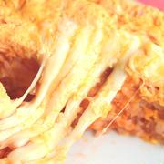 人気のシーチキンライスでとろとろチーズインオムライスのレシピ。レンジで簡単作り方。