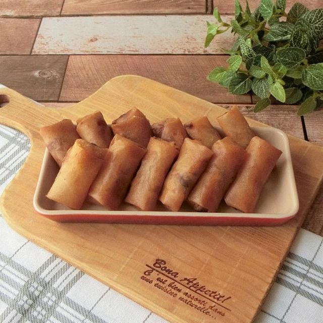 サバ味噌チーズ春巻き