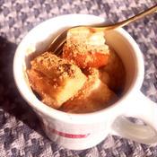 マグカップでスパイスたっぷりのほっかほかフレンチトースト
