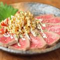 ローストビーフ & 新たまねぎの食べるドレッシング by 筋肉料理人さん