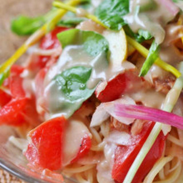 千葉野菜の冷製パスタ
