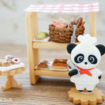 【募集】ドールハウスアイシング~パンダのパン屋さん~