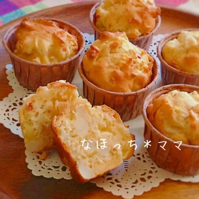 アレンジ自在な生地配合❤HMde山芋のベジマフィン