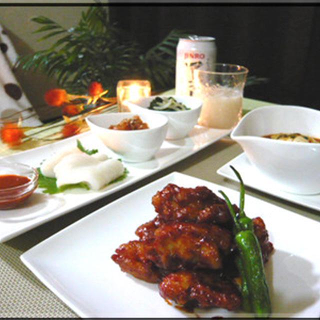 韓国風✿鶏の唐揚げ