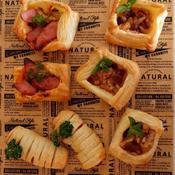 ウインナーマスタードパイ/くるみとレーズンのシナモンクリームチーズパイ