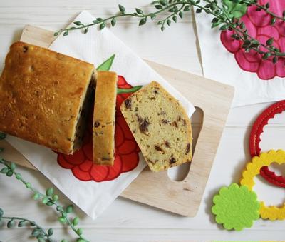 【簡単!】ラム香る大人なサツマイモパウンドケーキ