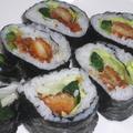 チキンカツ巻き寿司
