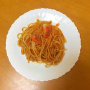 アンチョビとトマトのパスタ by ぽたーさん