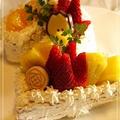 数字の誕生日ケーキ