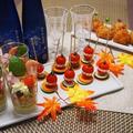 「澪」楽しむパーティーレシピ♡グレープフルーツのサラダカップ