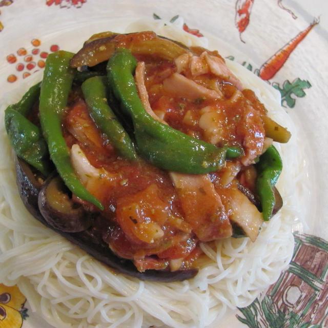 イタリアンな素麺