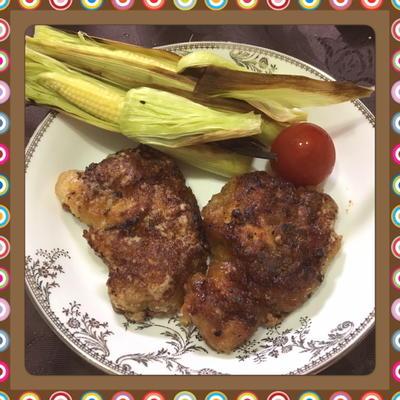 鶏もも肉の唐揚げ風甘辛グリル(レシピ付)